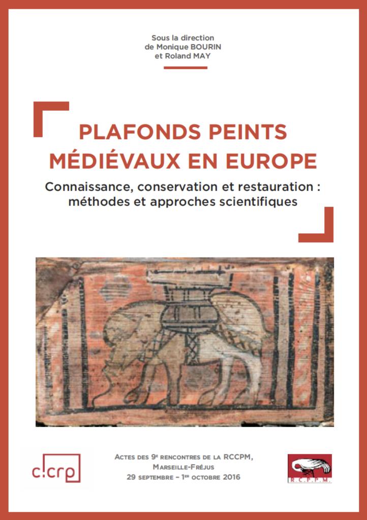"""Couverture de """"Plafonds peints médiévaux en Europe"""""""