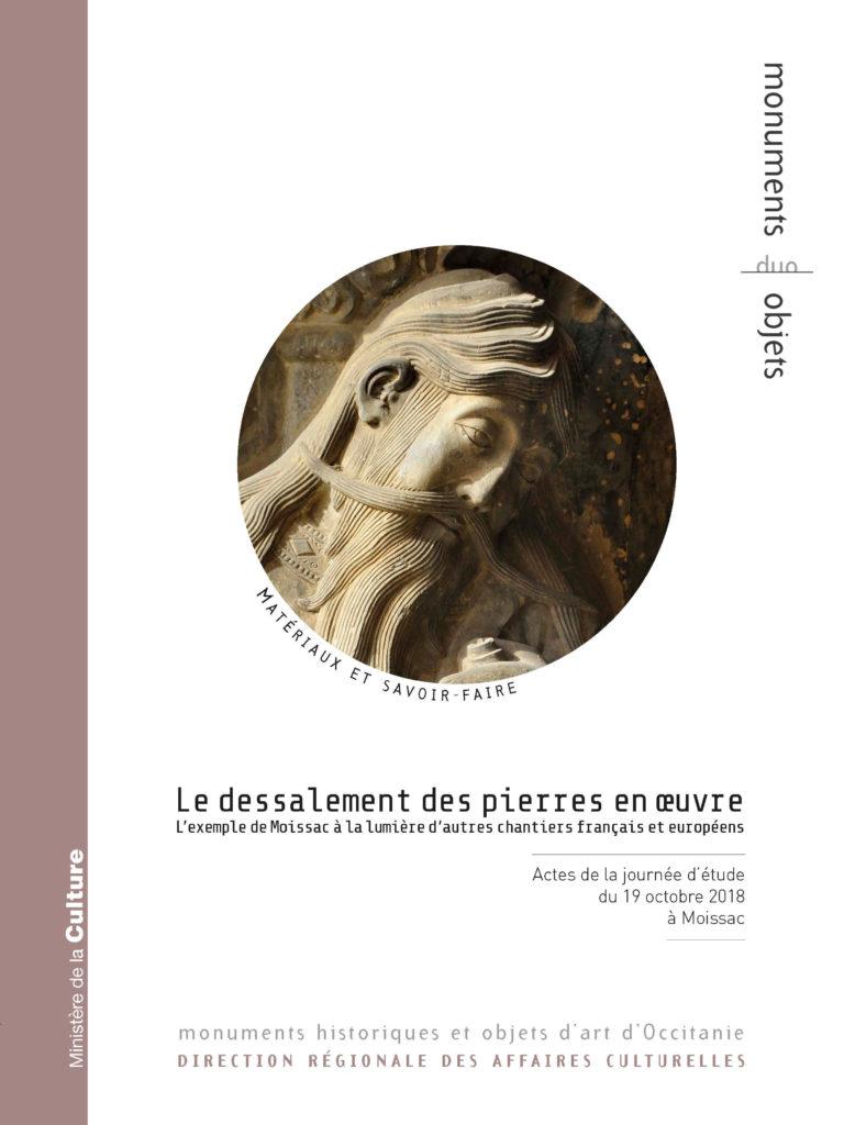 """Couverture de """"Dessalement des pierres en œuvre"""""""