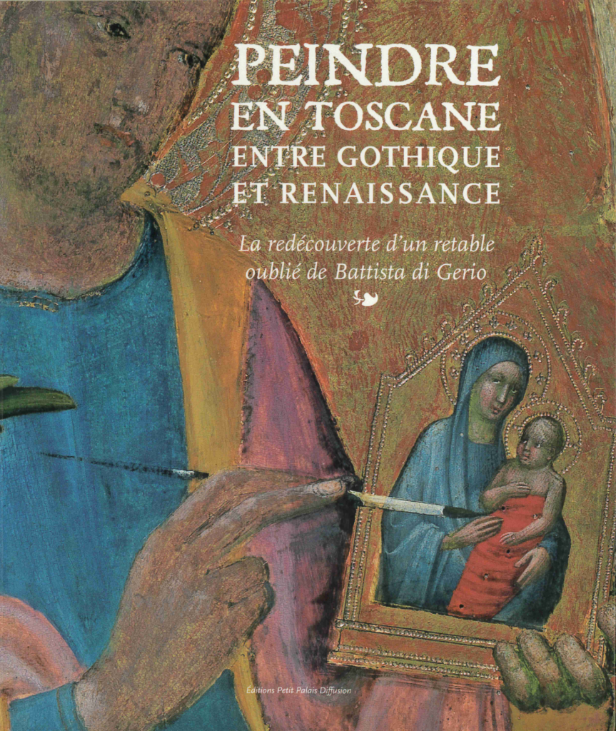 """Couverture de """"Peindre en Toscane entre Gothique et Renaissance"""""""