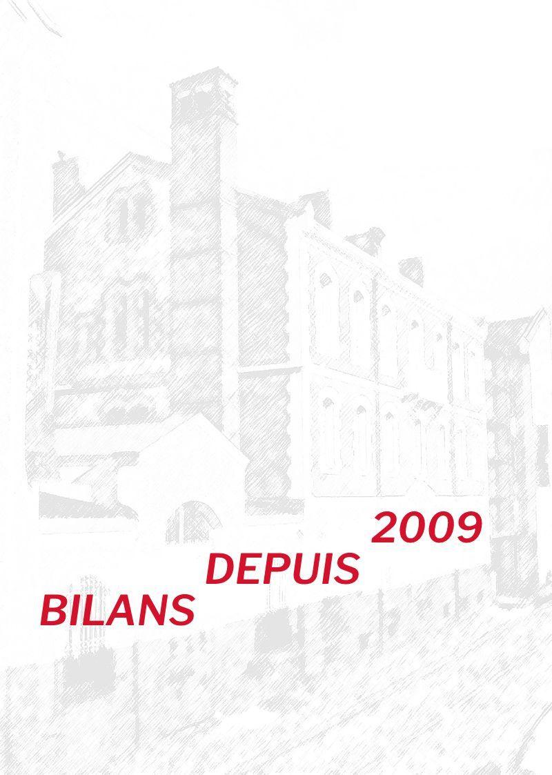 Bilans depuis 2009